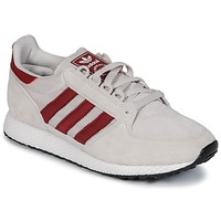 Shoes Low top trainers adidas Originals OREGON Beige / Red