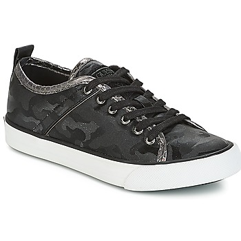 Shoes Women Low top trainers Guess JOLIE Black