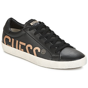 Shoes Men Low top trainers Guess RYAN Black