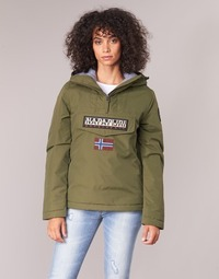 material Women Parkas Napapijri RAINFOREST WINTER Kaki