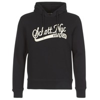 material Men sweaters Schott SWHOOD 28 Black