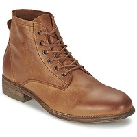 Shoes Men Mid boots Blackstone JM29 Brown