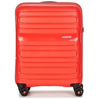 Bags Hard Suitcases American Tourister SUNSIDE 55CM 4R Red