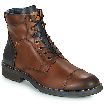 Shoes Men Mid boots Pikolinos YORK M2M Brown / Marine