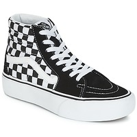 Shoes Women High top trainers Vans SK8-HI PLATFORM 2.1 Black / White