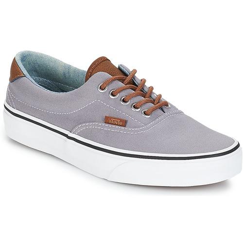 Shoes Men Low top trainers Vans ERA 59 Grey