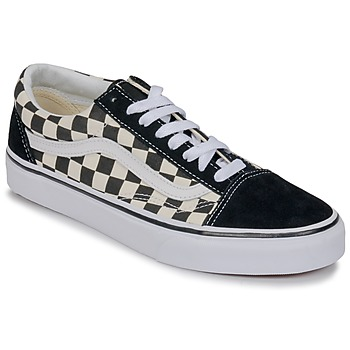 Shoes Low top trainers Vans OLD SKOOL White / Black