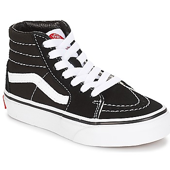 Shoes Children Low top trainers Vans UY SK8-HI Black / White