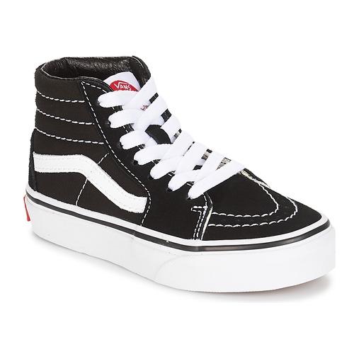 Shoes Children High top trainers Vans UY SK8-HI Black / White