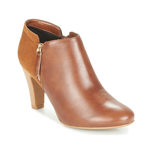 Shoes Women Low boots Moony Mood FADI Camel