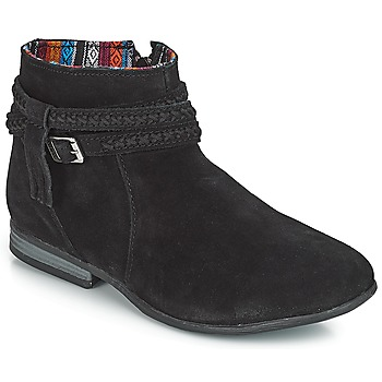 Shoes Women Mid boots Minnetonka DIXON BOOT Black