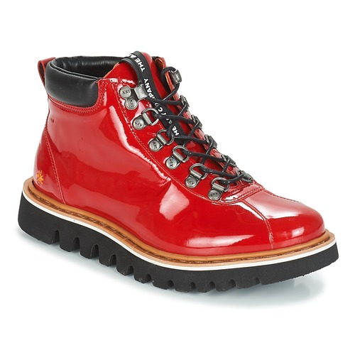 Shoes Women Mid boots Art TORONTO Red