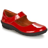 Shoes Women Ballerinas Art ANTIBES Red
