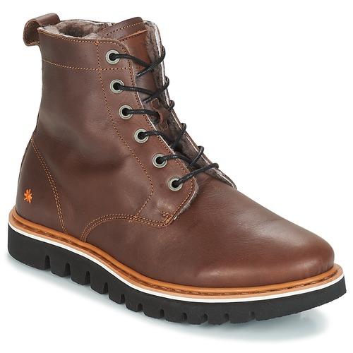 Shoes Men Mid boots Art TORONTO Brown