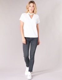 material Women slim jeans Diesel BABHILA Grey / 084vq