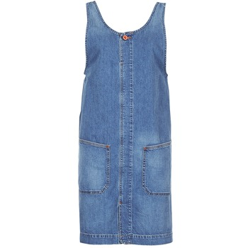 material Women Short Dresses Diesel DE DATY Blue