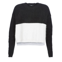 material Women jumpers Diesel M AIRY Black / White