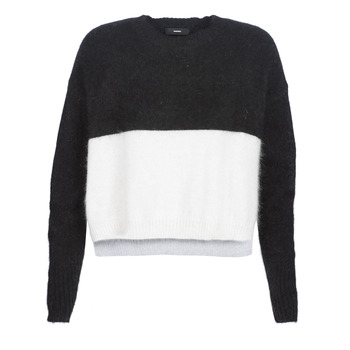 material Women jumpers Diesel M AIRY Black / White