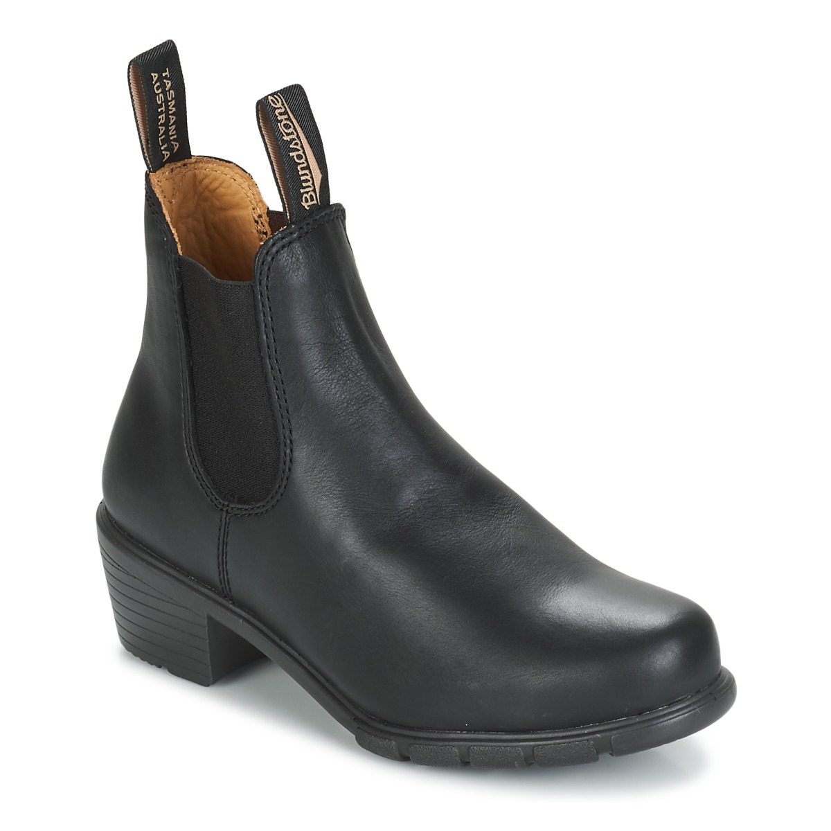 Blundstone Womens Heel Boot Black Fast Delivery With Spartoo Tas Lacoste Zip Basic Special Colours Europe Shoes Ankle Boots Women 18500