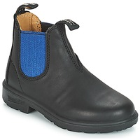 Shoes Children Mid boots Blundstone KIDS BOOT Black / Blue