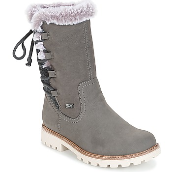 Shoes Women Boots Rieker  Grey