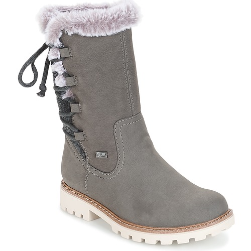 b3059f38131b Rieker Grey - Fast delivery with Spartoo Europe ! - Shoes Boots ...