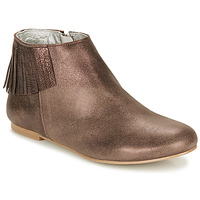 Shoes Women Mid boots Ippon Vintage DOLLY MAGIC Beige / Gold