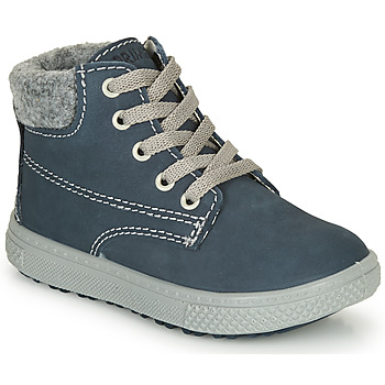 Shoes Boy Mid boots Primigi BARTH 19 Marine / Grey