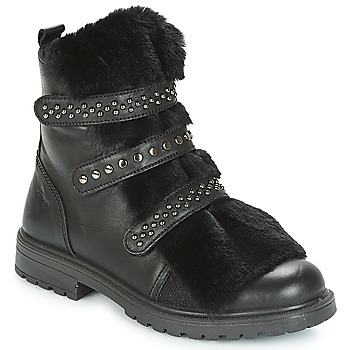 Shoes Girl Mid boots Primigi CHRIS Black