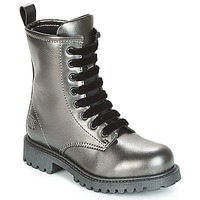 Shoes Girl Mid boots Primigi TREO Grey