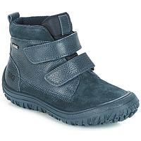 Shoes Boy Mid boots Primigi (enfant) POG 24371 GORE-TEX Blue