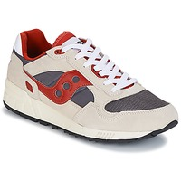 Shoes Men Low top trainers Saucony SHADOW 5000 VINTAGE Beige / Grey / Red