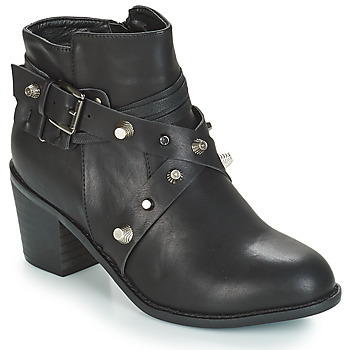 Shoes Women Mid boots Cassis Côte d'Azur ESARIA Black