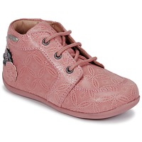 Shoes Girl Mid boots Aster DILA Pink