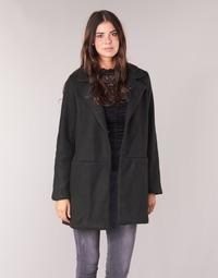 material Women coats Vila VIDORY Black