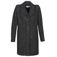 material Women coats Vila VICAT Black