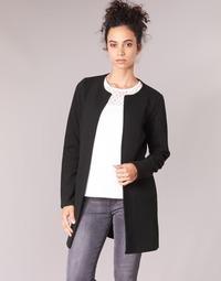 material Women Jackets / Blazers Vila VINAJA LONG Black