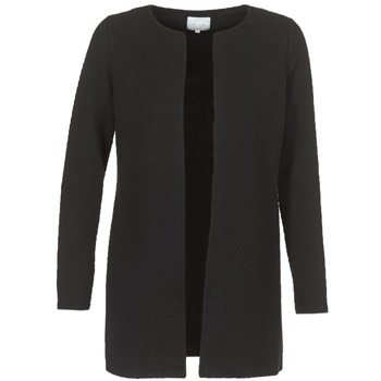 material Women Jackets / Blazers Vila VINAJA LONG Black