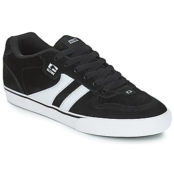 Shoes Men Low top trainers Globe ENCORE 2 Black / White