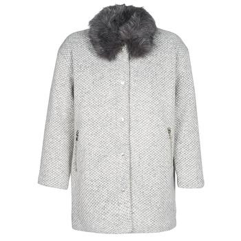 material Women coats Le Temps des Cerises DUCHESSE Grey