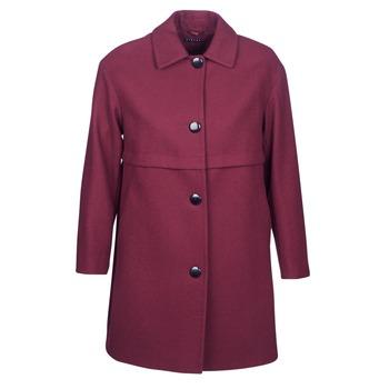 material Women coats Sisley FAREDA Bordeaux