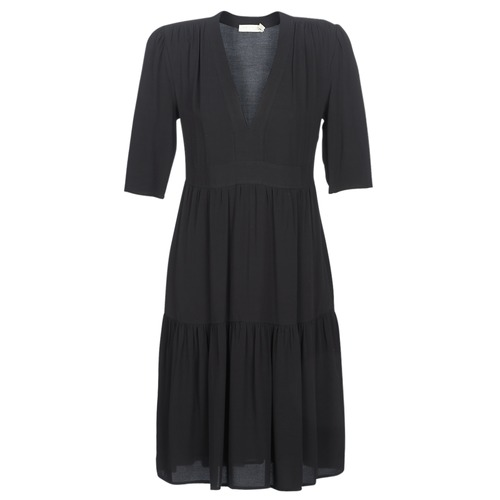 material Women Long Dresses See U Soon CUICO Black