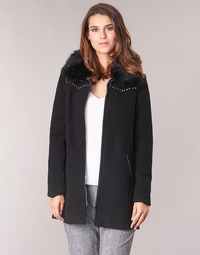 material Women coats Desigual COLLINE Black