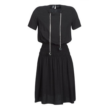 material Women Short Dresses Love Moschino MODELLO Black