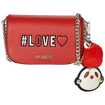 Bags Women Shoulder bags Love Moschino TIANA Red