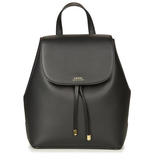 Bags Women Rucksacks Lauren Ralph Lauren DRYDEN BACKPACK Black / Red