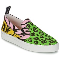 Shoes Women Slip ons Moschino Cheap & CHIC LIDIA Multicolour