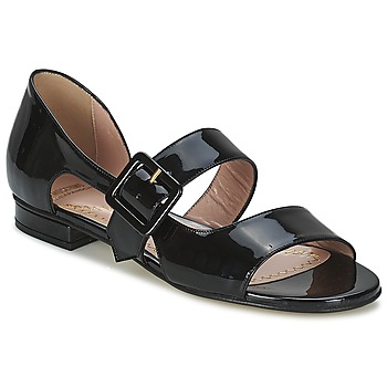 Shoes Women Sandals Moschino Cheap & CHIC LORETTA Black