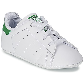 Shoes Children Low top trainers adidas Originals STAN SMITH GIFTSET White / Green