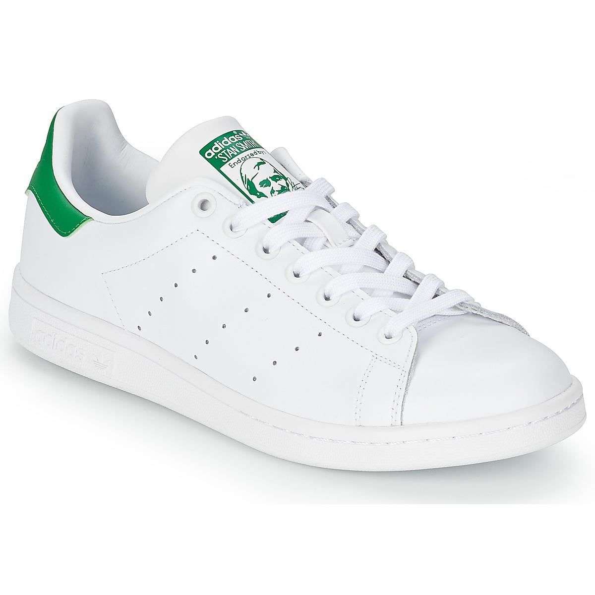 adidas Originals STAN SMITH White / Green